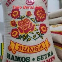 Beras Setra Ramos Cap Bunga 25Kg