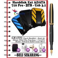 "ADATA HD710 Pro Harddisk Eksternal 2TB 2.5"" USB3.1 - FREE 4 ITEM BONUS"