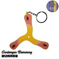 Gantungan Kunci Bumerang Boomerang Runner