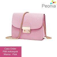 Peonia -Tas Selempang Wanita Import - Korea Style - Tas Hp - Fulla Bag