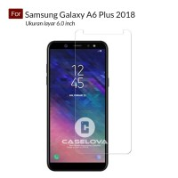 Tempered Glass Screen Protector Samsung Galaxy A6 Plus 2018 - Clear