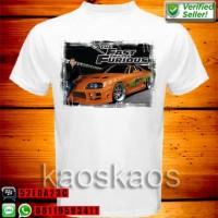 Kaos Fast And Furious Paul Walker Ukuran S sd XL