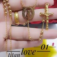 rosario kalung titanium terlaris