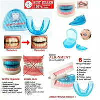 ORTHODENTIC RETAINER TEETH TRAINER ALIGMENT / BEHEL PERAPIH GIGI KARET