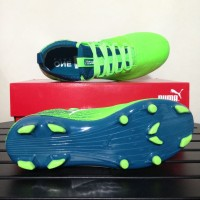 Sale Sepatu Bola Anak Puma One 18.3 FG Junior Green 104539-03 Original