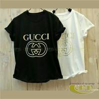 VIP136f Promo buy 1 get 2 Kaos Wanita Branded Fit to L