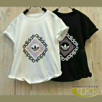 VIP136b Promo buy 1 get 2 Kaos Wanita Branded Fit to L