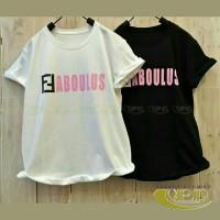 VIP136A Promo buy 1 get 2 Kaos Wanita Branded Fit to L