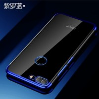 Case Huawei Honor 9 Lite Shiny Electro Plating Clear Chrome Soft Case