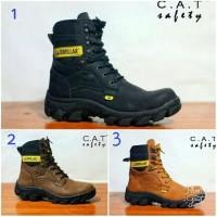 Sepatu Boots Pria CATERPILLAR Pajero Ujung Besi