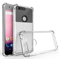 Google Pixel 1 2 3 XL Case Clear Crystal Soft Silicone Shockproof TPU