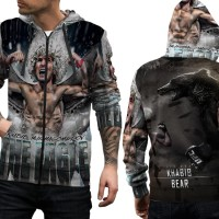 jaket custom premium UFC khabib