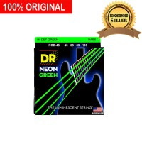 Senar Bass Elektrik Neon Warna Hijau Green DR Strings NGB 45