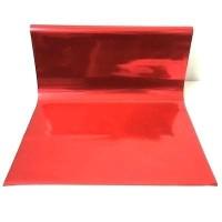 Kertas Kado Metalik Warna Merah Mengkilat Cocok Untuk Dekorasi Natal