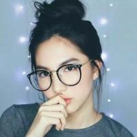 Paket Frame Kacamata Bulat Besar Minus, Plus, Normal Antiradiasi