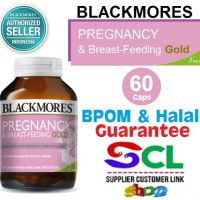 Blackmores Pregnancy and Breastfeeding Gold 60 Kapsul BPOM Kalbe