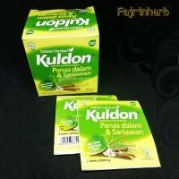 Kuldon tablet herbal panas dalam dan sariawan