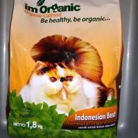 Imo(Im Organik Indonesian Best 1,8kg) makanan untuk semua Usia Kucing