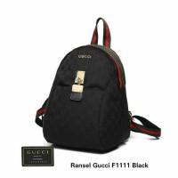 Tas Ransel Gucci Seri F1111 Tas Wanita Branded
