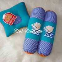 DIALOGUE Set bantal guling bantal peang bayi motif polka dan sailor