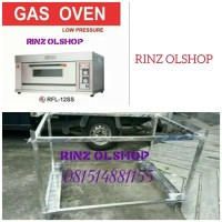GAS BAKING OVEN GETRA RFL-12SS + MEJA OVEN