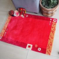 Karpet handtuft 450 tahan api motif 3 60x90 cm