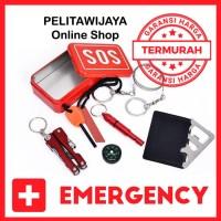 SOS Tool Kit Emergency Survival Camping Outdoor