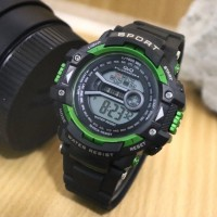 Jam tangan ANAK ABG Remaja QnQ Digital Rubber Strap