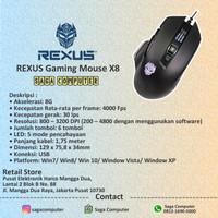 Rexus Gaming Mouse X8 Murah Original 100%