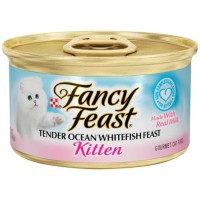 Fancy Feast Kitten Whitefish Feast 85gr