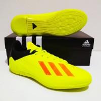 SEPATU FUTSAL Adidas X Adizero Techfit 18 IC Grade Ori (Stabilow Blac)