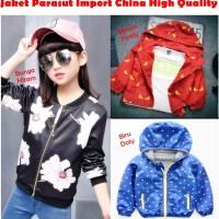 Jaket Anak Parasut Import China High Quality Product