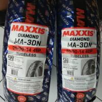 MAXXIS MA3DN 80/90-14 90/90-14 SEPASANG UNTUK MOTOR MATIC VELG RING14