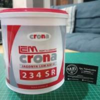 Lem Kayu Crona 234 4kg | Lem Aliphatic | Lem hobi kayu