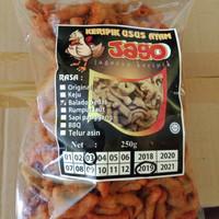 Keripik Usus Ayam Balut Tepung rasa Balado Pedas 250 gr kripik hot