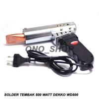 Solder Tembak 500 Watt Dekko WD500