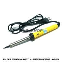 Solder Winner 40 Watt + Lampu Indikator - WS-500