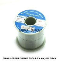 Timah Solder C-Mart Tools 1 mm, 400 Gram CC0013-500