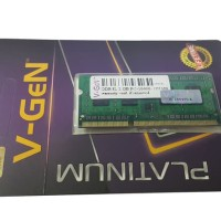 RAM DDR3 SODimm V-GeN 2GB PC10600/1333Mhz (Memory Laptop VGEN)