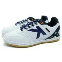 Sepatu Futsal Kelme Intense 4.0 (White) Diskon