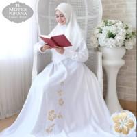 Baju Muslim Gamis Syari Pesta Wanita Motex Kirana Terbaru