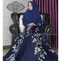 Baju Muslim Gamis Syari Pesta Wanita Syari Maera Terbaru