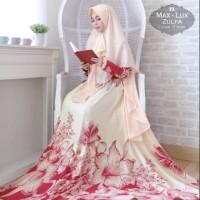 Baju Muslim Gamis Syari Pesta Wanita Maxmara Lux Zulfa Terbaru