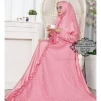 Baju Muslim Gamis Syari Pesta Wanita Velvet Cynthia Terbaru
