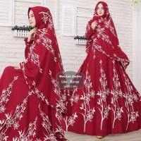 Baju Muslim Gamis Syari Pesta Wanita Maxmara Zaskia Terbaru