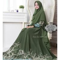 Baju Muslim Gamis Syari Pesta Wanita Maxmara Ainun Terbaru