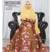 Baju Muslim Gamis Syari Pesta Wanita Maxmara Lux Audi Terbaru