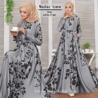 Baju Muslim Gamis Syari Pesta Wanita Maxmara Lux Azura Terbaru