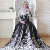 Baju Muslim Gamis Syari Pesta Wanita Maxi Humaira Terbaru