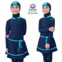 Baju Renang Anak SD Muslim Muslimah Ukuran M, L dan XL ML-TG-P-001